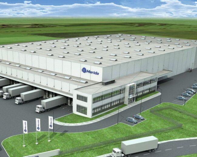 Merida Centrum Logistyczne w Tyńcu Małym