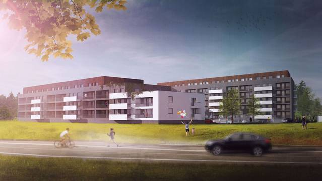 Larix Garden, nowe mieszkania, Warszawa, Bemowo …